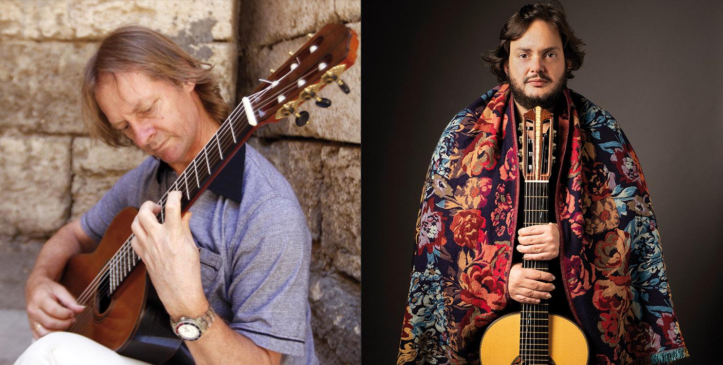 David Russel y Yamandú Costa en el Festival Internacional de Guitarra José Tomás de Petrer