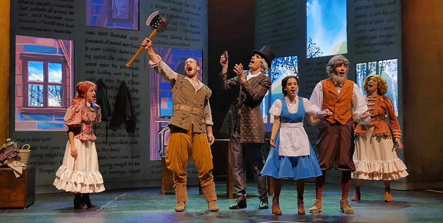 """El nuevo musical de """"La Bella y la Bestia"""" en el Teatro Río de Ibi"""