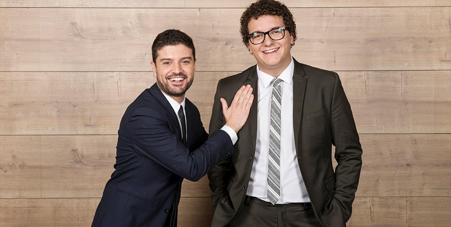 """""""Qué rico tour"""" con Facu Díaz y Miguel Maldonado en el Teatro Principal"""